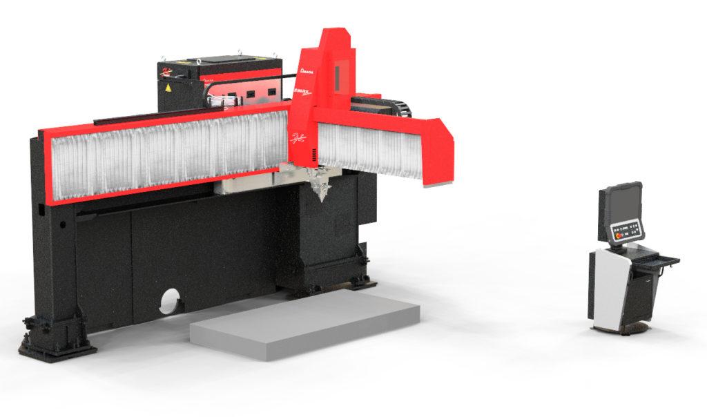 3次元ファイバーレーザー加工機